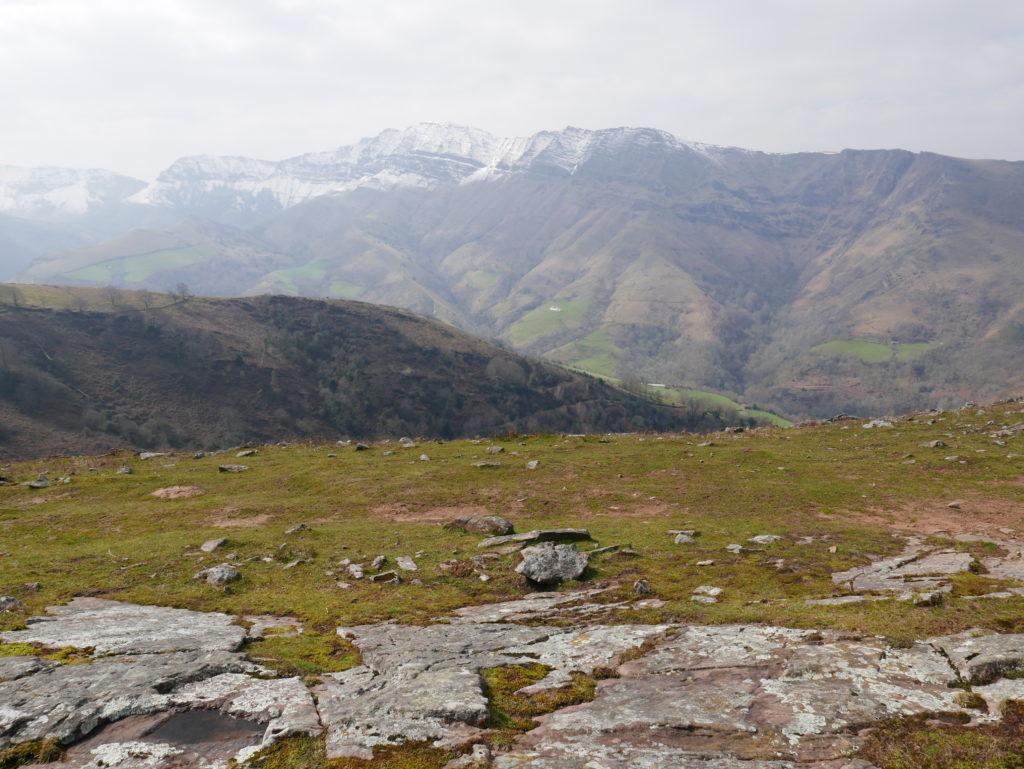 Iparla ridge from Larla